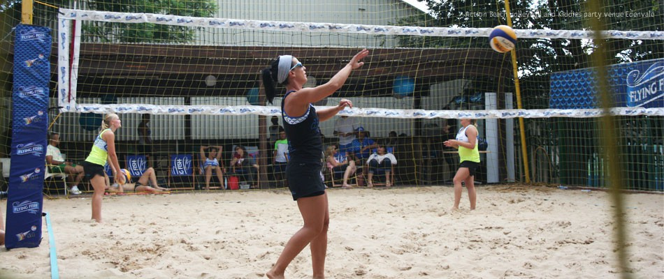 Action Beach Volleyball in Edenvale Johannesburg