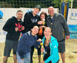 Beach Volleyball tournaments and Leagues