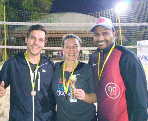 Beach volleyball leagues in Edenvale